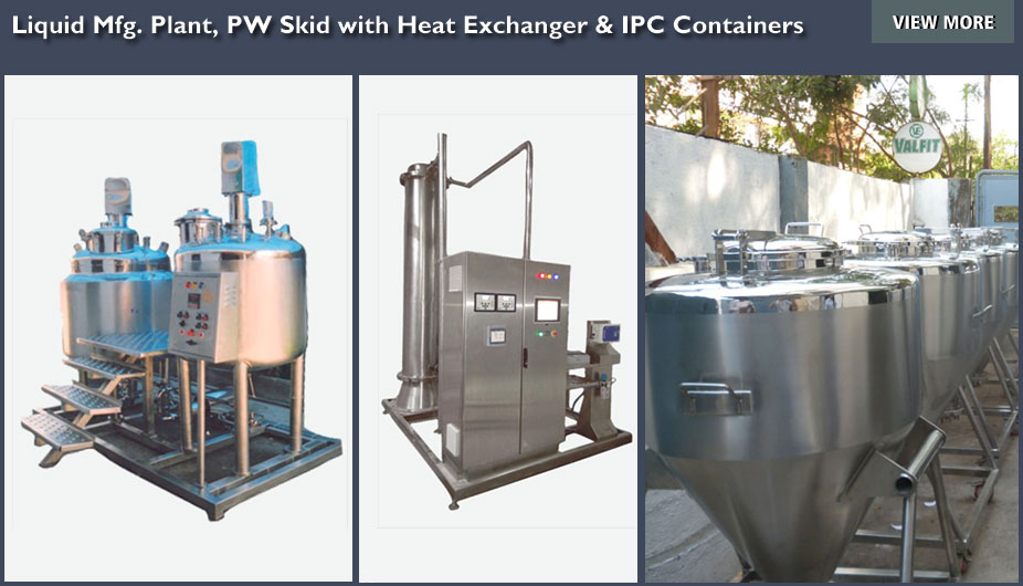 Process Equipment, Tanks / Jacketed Vessels, Filters, Heat
